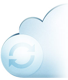 Backup continuo de data en la nube